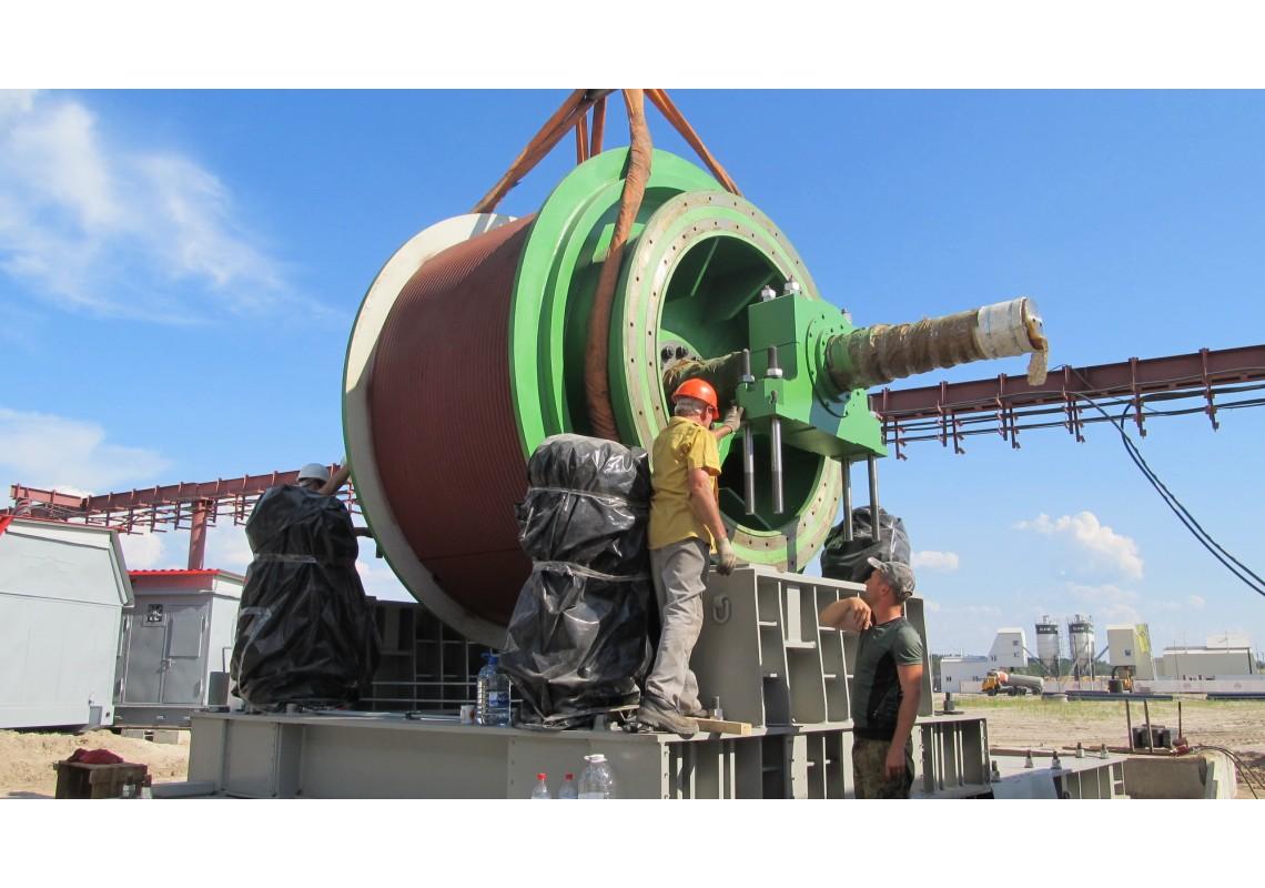 Оборудование шахтного подъёма
